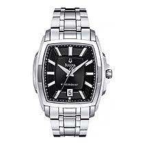 Bulova 96B144 Mens Black Silver Precisionist Watch