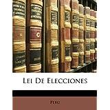 Lei de Elecciones