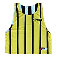 Referee & Official Sublimated Reversible Lacrosse Pinnie
