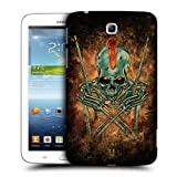 Head Case Designs Tom Skull of Rock Protective Snap-on Hard Back Case Cover for Samsung Galaxy Tab 3 7.0 P3200 T210 WiFi