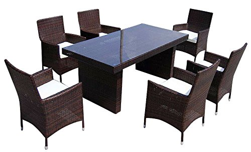 baidani gartenm bel sets designer rattan sitz garnitur elegancy 1 tisch mit. Black Bedroom Furniture Sets. Home Design Ideas