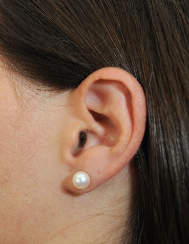 White-Freshwater-Cultured-Pearl-Stud-Earrings-in-14K-Gold-AAA-Quality