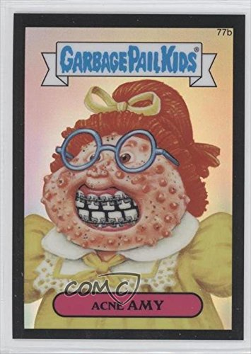 Acne Amy #12/99 (Trading Card) 2014 Topps Garbage Pail Kids Chrome Original Series 2 Black Refractor #77B