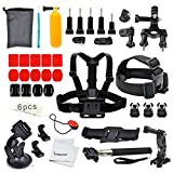 Erligpowht GoPro Accessory Kit Ultimate Combo Kit 36 accessories for GoPro HERO 4/3+/3/2/1