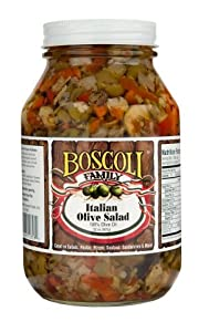 Italian Olive Salad Medium Olive Spread Condiments Grocery Gourmet Food