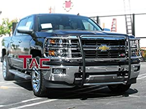 Amazon.com: TAC Custom Fit 2014-2015 CHEVY SILVERADO 1500 GRILL GUARD