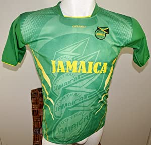 Buy JAMAICA SOCCER JERSEY T-SHIRT GREEN DRAKO FÚTBOL ONE SIZE FITS ALL L FOOTBALL WORLD CUP 2014 FIFA CAMISETA REMERA
