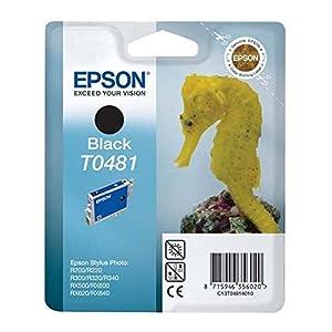 Epson Inkjet Cartridge Page Life 550pp Black Ref T048140