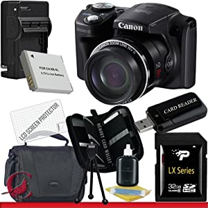 Canon PowerShot SX500 IS Digital Camera 32GB Package 3