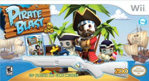 Pirate Blast  White Gun Bundle