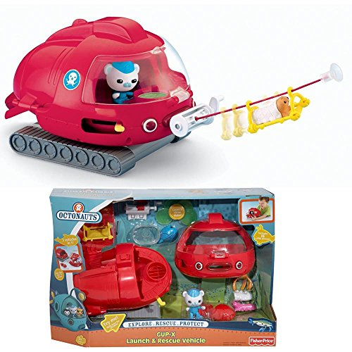 Fisher-Price Octonauts Launch and Rescue Gup X Vehicle - 1