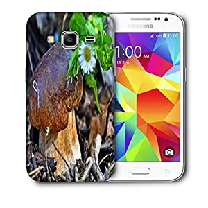 Snoogg Little Mushroom Printed Protective Phone Back Case Cover For Samsung Galaxy Core Plus G3500
