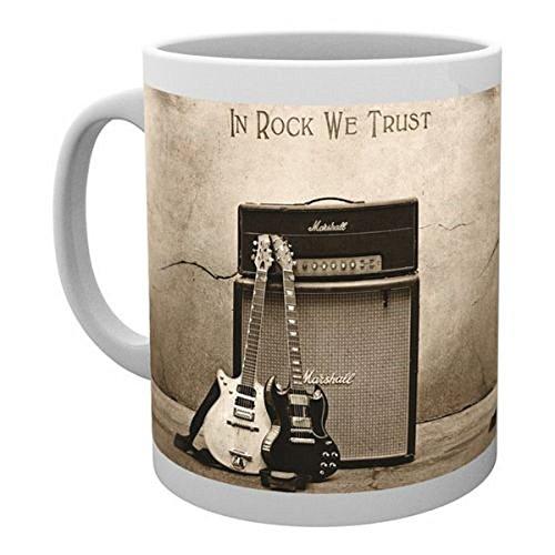 AC/DC-tazza in Rock We Trust nuovo in confezione regalo