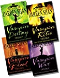 Darren Shan The Saga of Darren Shan Collection - 4 Books, 12 Stories RRP £43.96 (Vampire Blood Trilogy; Vampire Rites Trilogy; Vampire War Trilogy; Vampire Destiny Trilogy)