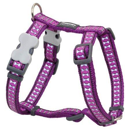 Red Dingo Plain Dog Harness