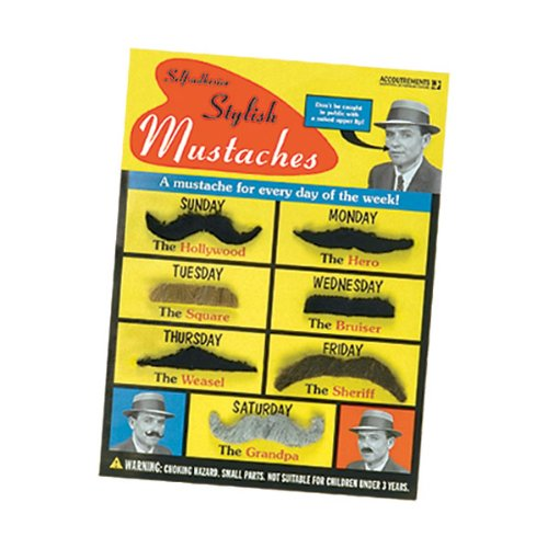 Self-Adhesive Mustaches