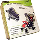 Maxtto Childcare Universal/Pram Buggy/Pushchair Rain Cover