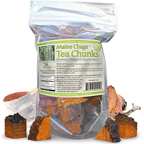 Maine Chaga Tea Chunks
