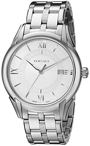 "Versace Men's VFI040013 ""Apollo"" Stainless Steel Casual Watch image"