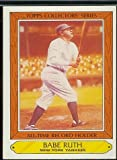 10 Different Babe Ruth Baseball Cards - Mint Condition