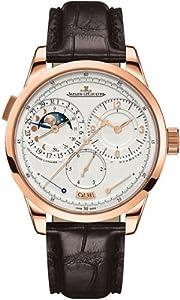 Jaeger LeCoultre Duometre a Quantieme Lunaire Silver Dial Mechanical Mens Watch Q6042521