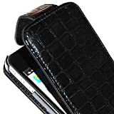 Product B0056ETRUE - Product title BONAMART ® Cool Crocodile PU Leather Case Cover For Apple iPhone 4 4G 4S AT&T Verizon Black