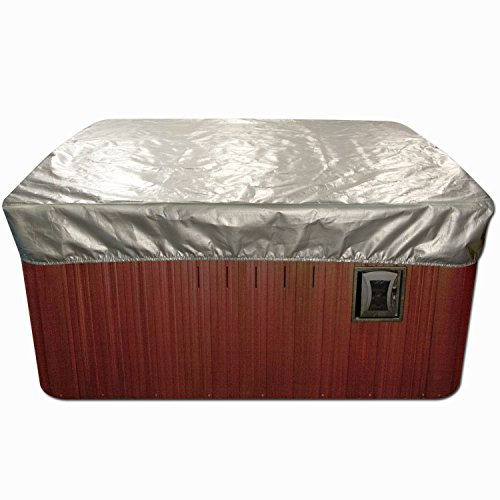 Spa Cover Cap Thermal Spa Cover Protector - 7 x 7 Feet x 12 Inches (Hot Tub Cover 7 X 7 compare prices)