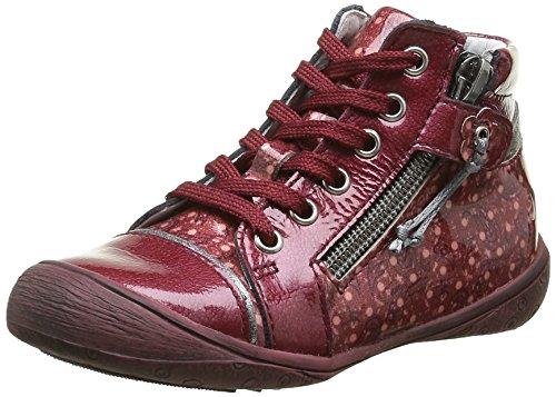 GBBNerine - Sneaker Bambina , Rosso (Rouge (36 Vvn Bordo/Imprimé Dpf/Heidi)), 31