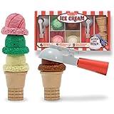 Melissa & Doug Deluxe Ice Cream Parlor Set