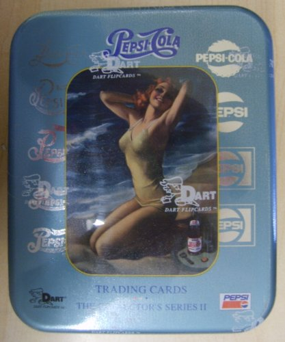 Pepsi Cola 2 Collector's Series II Trading Cards Tin -36 Count - 1