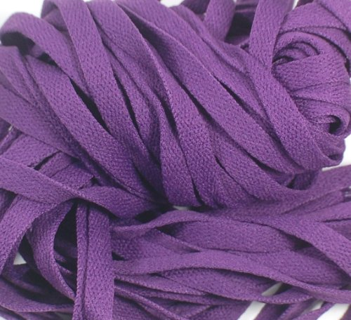 "New! Extreme Sports 45"" Flat Shoelaces Purple (1 Pair)"