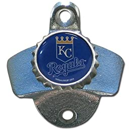 MLB Kansas City Royals Wall Bottle Opener by Siskiyou