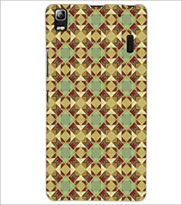 PrintDhaba Pattern D-5221 Back Case Cover for LENOVO A7000 PLUS (Multi-Coloured)