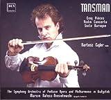 echange, troc Tansman, Cajler, Orch Podlasie Phil, Niesiotows - Clinq Pieces / Violin Concerto / Suite Baroque