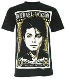 (PALLAS) Michael Jackson MJ The King of Pop T-Shirt (NS007)