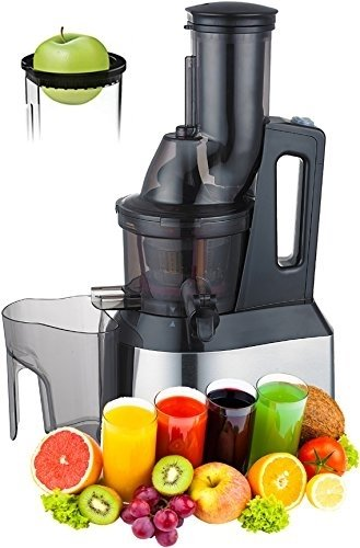 Purchase Whole Slow Juicer - Wide Feed Chute Big Mouth Whole Fruit & Vegetables Masticating Juicer -...