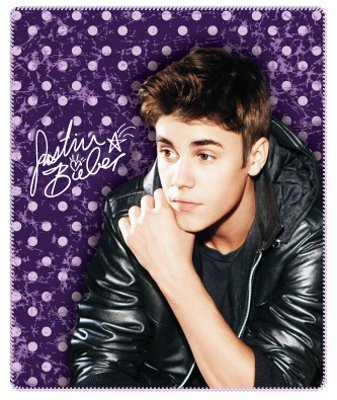 Read About Justin Bieber Vintage Fleece Throw Blanket