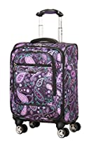 Ricardo Beverly Hills Mar Vista 17-Inch 4 Wheel Expandable Wheelaboard, Purple Paisley, One Size