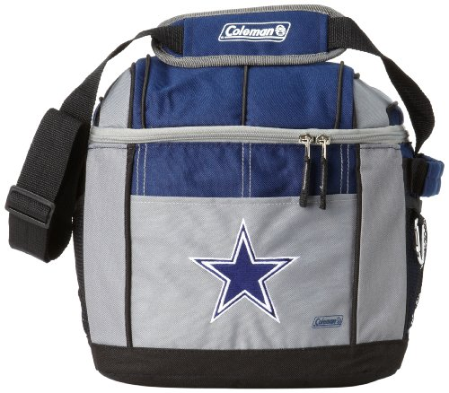 NFL Dallas Cowboys 24 Can Soft Sided Carry Coleman Cooler at Amazon.com