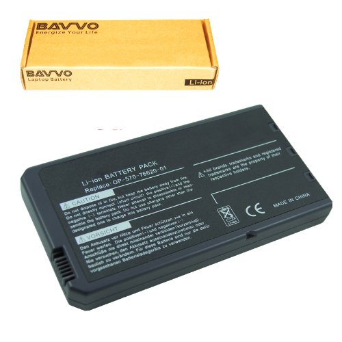 Bavvo 8-chamber Laptop Battery for Dell Inspiron 1000, Inspiron 1200, Inspiron 2200, Latitude 110L series