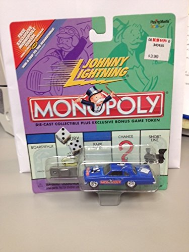 Johnny Lightning MONOPOLY PARK PLACE PONTIAC TEMPEST die cast car and bonus game token