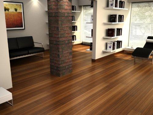 Carbonized Bamboo Line Solid Engineered Wood Hardwood Floor Flooring
