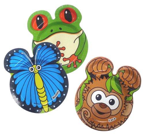hefty-zoo-pals-rainforest-plates-1-pack-of-20-plates-18cm