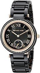 Michael Kors Women's Mini Skylar Black Watch MK6242