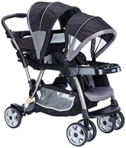 Graco Ready 2 Grow Stroller Viceroy, Black/Grey, 1-Pack