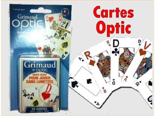 54 cartes OPTIC sous blister