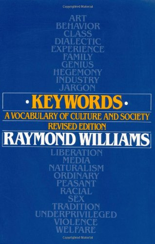 Keywords%3A+A+Vocabulary+of+Culture+and+Society