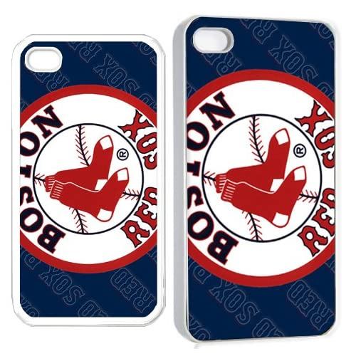 boston redsox iPhone Hard Case 4s White