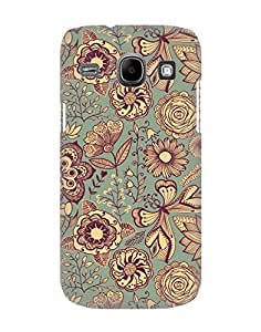 Pick Pattern Back Cover for Samsung Galaxy Core I8260 (MATTE)