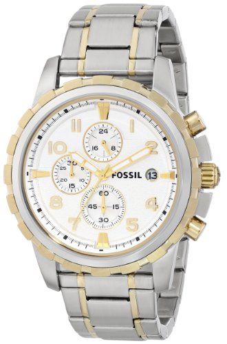 Fossil Men's FS4795 Dean Chronograph Stainless Steel Watch